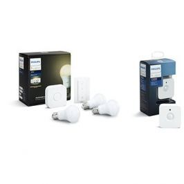 Philips Hue White 8.5W E27 starter kit + Motion Sensor
