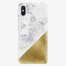 Plastový kryt iSaprio - Gold and WH Marble - Xiaomi Redmi S2